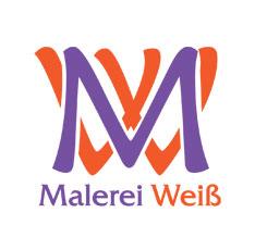 Malerei Weiß - Logo